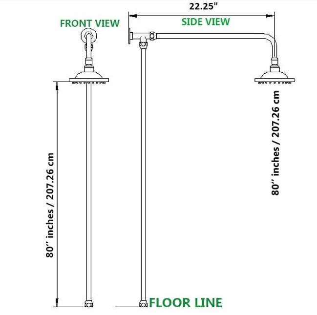 industry-standard-shower-head-height