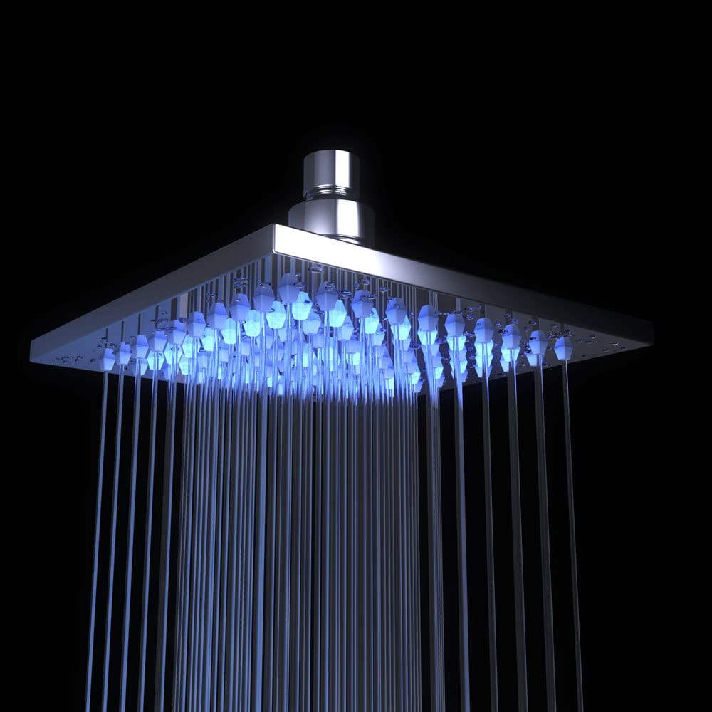 Overhead-lighting-Shower-head