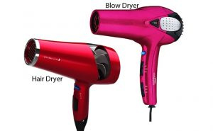 Hair-Dryer-vs-Blow-Dryer