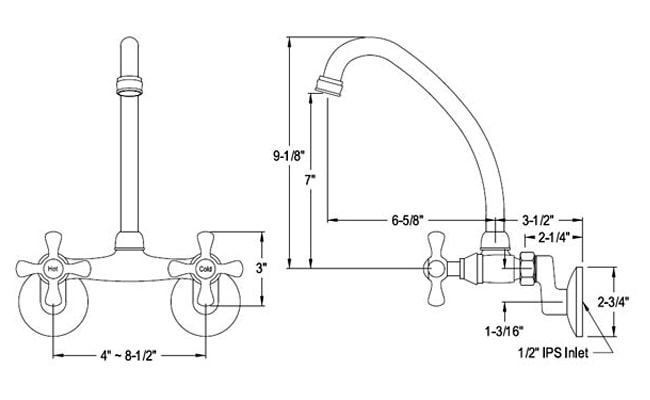 one-handle-kitchen-faucet-sizes