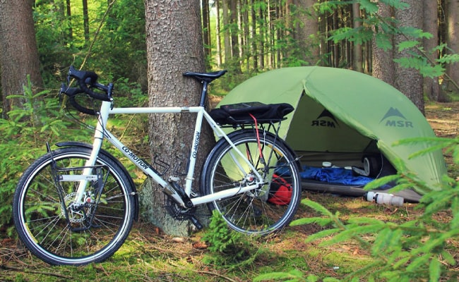 Bicycle-Camping
