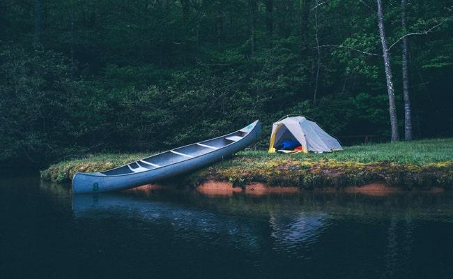 Canoe-Camping