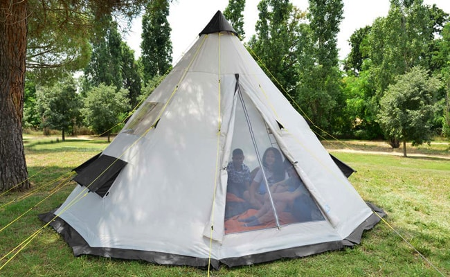 Types-of-Tents-Teepee-Tent