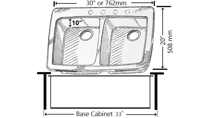 Standard Kitchen Sink Sizes Explained - MorningToBed.com