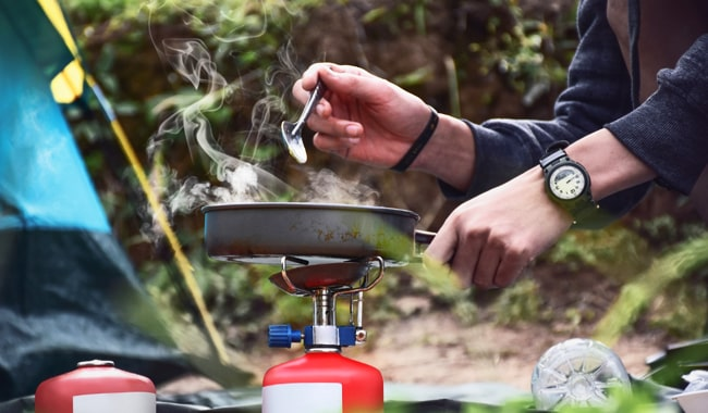 Camping-Cooking